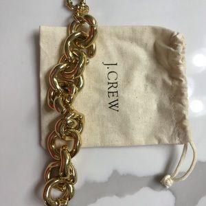 J Crew gold link bracelet